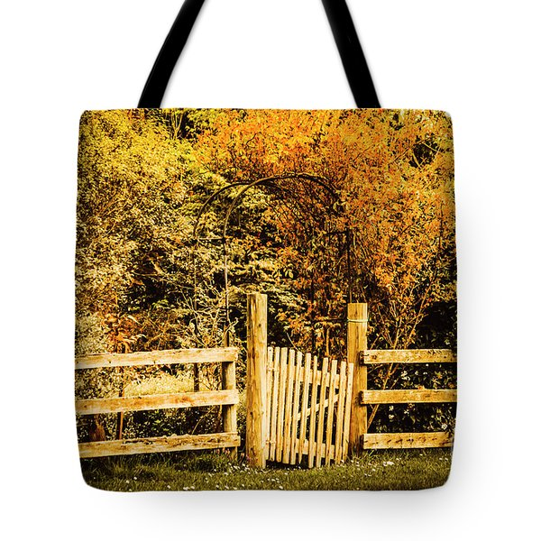 Rickety Countryside Tote Bag