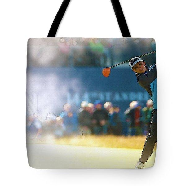 Rickie Fowler  Tote Bag