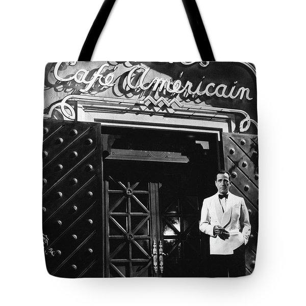 Ricks Cafe Americain Casablanca 1942 Tote Bag