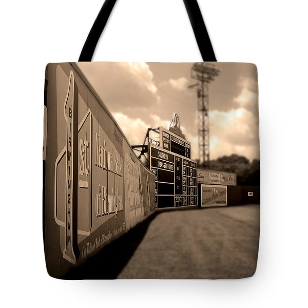 Rickwood Field Fence Tote Bag