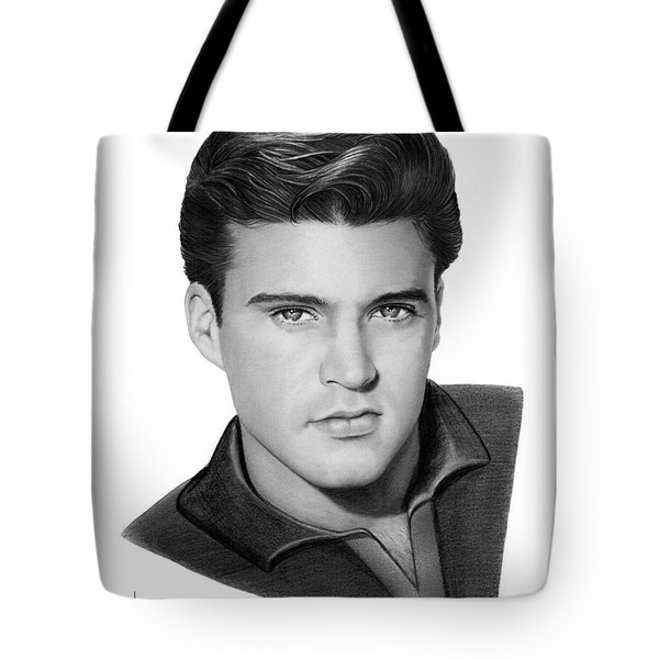 Ricky Nelson Tote Bag
