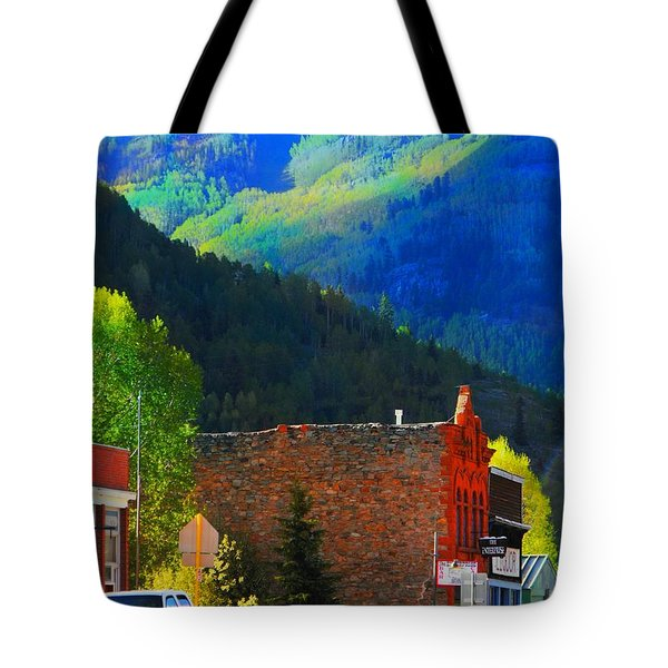 Rico Colorado Tote Bag by Annie Gibbons
