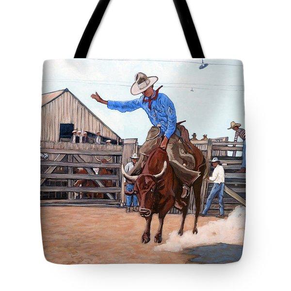 Ride 'em Cowboy Tote Bag