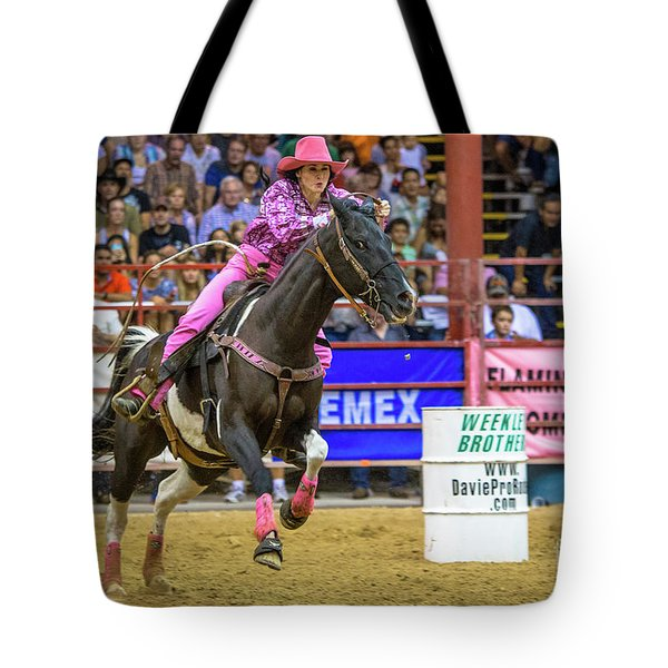 Ride Her Hard Cowgirl Tote Bag