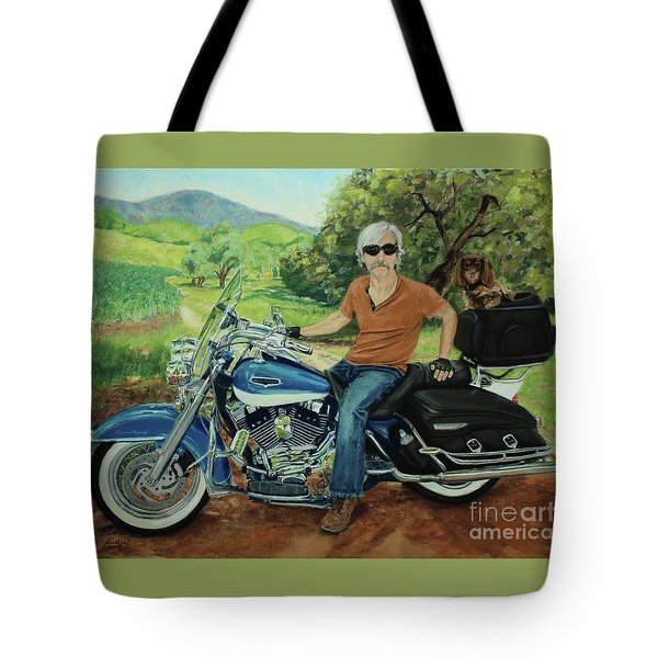 Ride In The Birksire's Tote Bag
