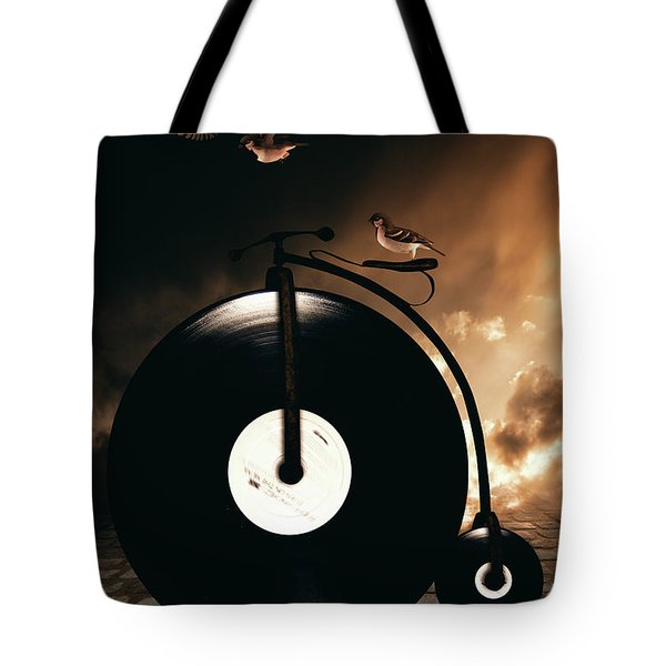 Ride Lesson Tote Bag