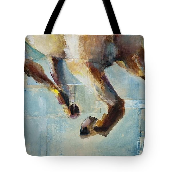 Ride Like You Stole It Tote Bag by Frances Marino