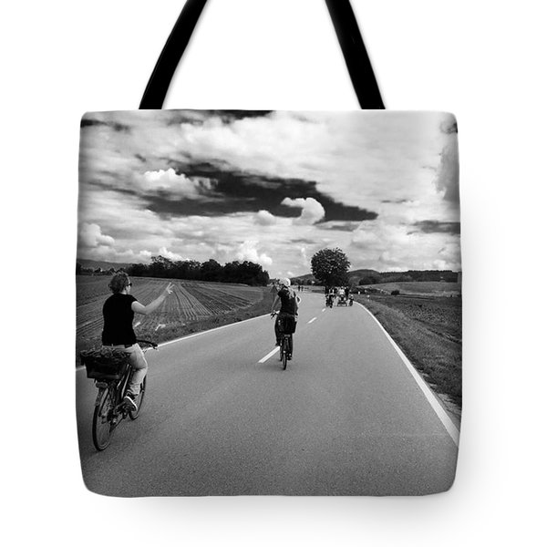 Ride My Bicycle Tote Bag