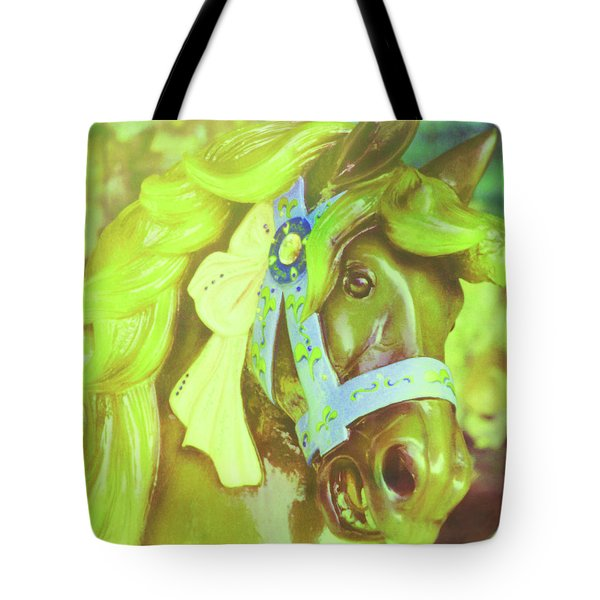 Ride Of Old Green Tote Bag