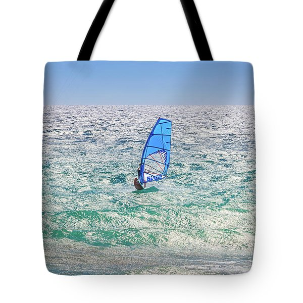 Tote Bag featuring the photograph Ride The Waves, Scarborough Beach by Dave Catley