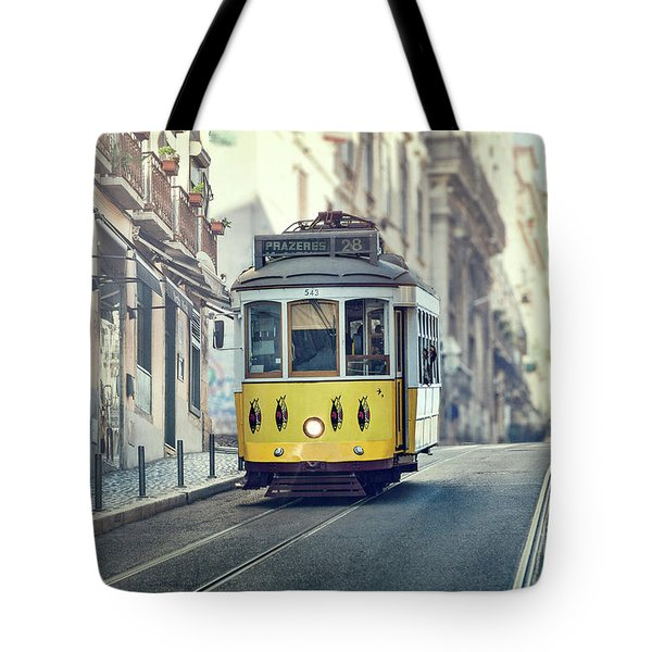 Ride These Streets Tote Bag
