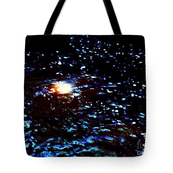 Ride Through Cosmos Tote Bag