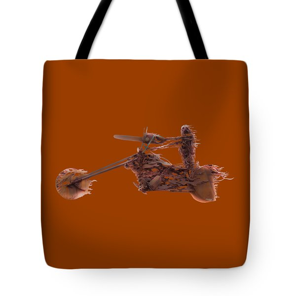 Rider In The Sky Tote Bag