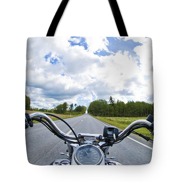 Riders Eye View Tote Bag
