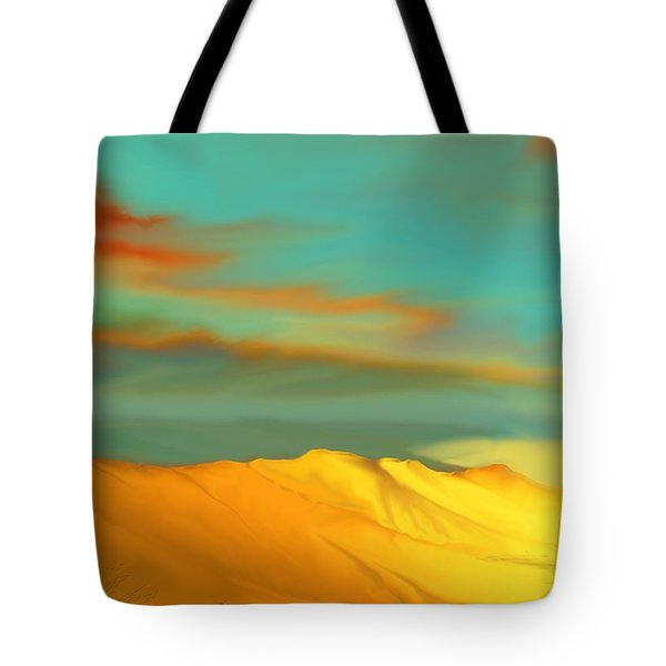 Ridge Tote Bag by Kerry Beverly