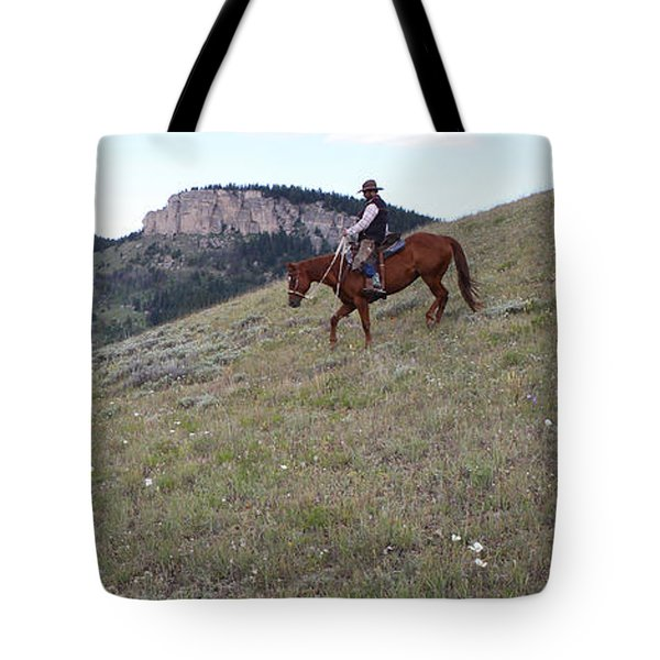 Ridge Riding Tote Bag