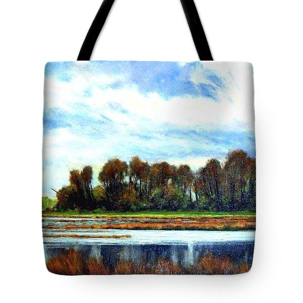Ridgefield Refuge Early Fall Tote Bag