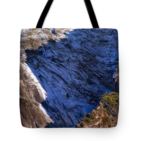 Ridgeline Shadows Tote Bag