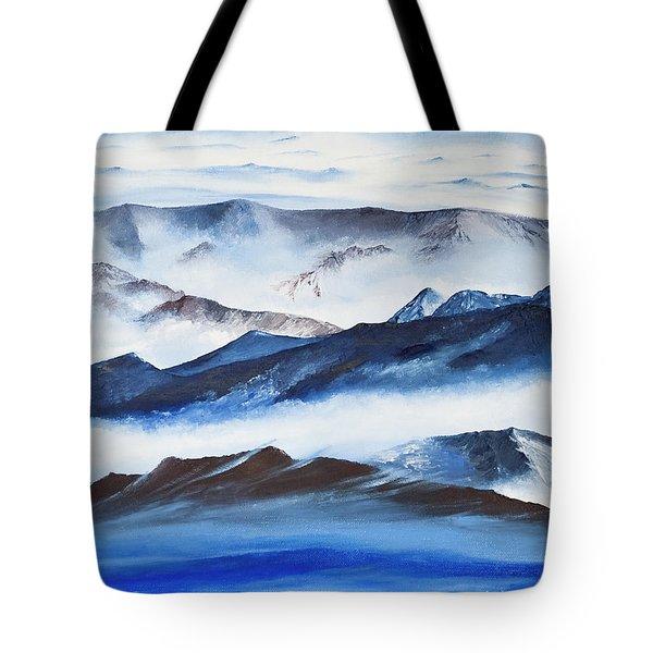 Ridgelines Tote Bag