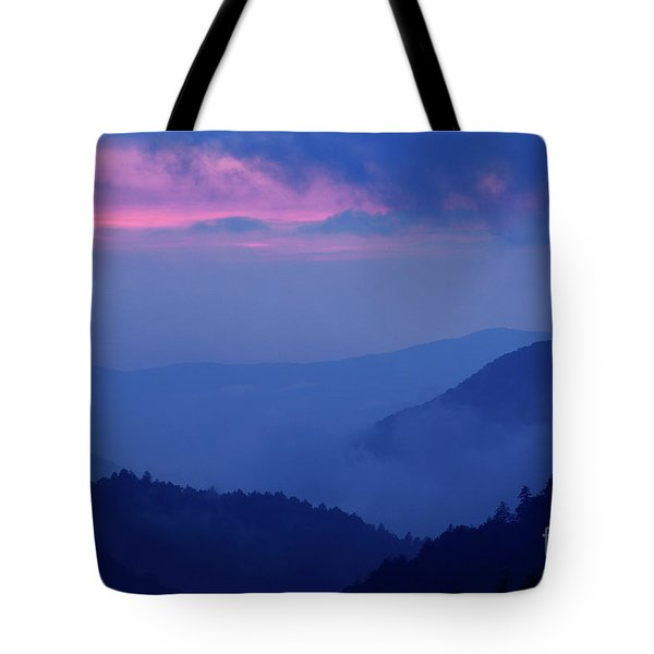 Tote Bag featuring the photograph Ridges - D000023 by Daniel Dempster