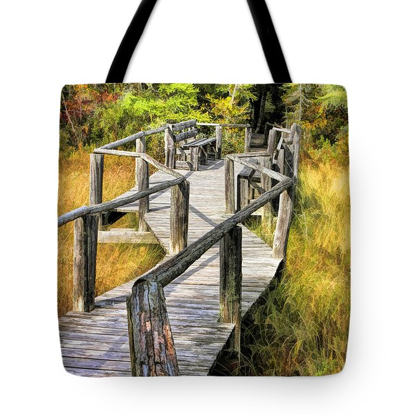 Ridges Sanctuary Crossing Tote Bag by Christopher Arndt