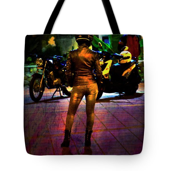 Tote Bag featuring the photograph Riding Companion II by Al Bourassa
