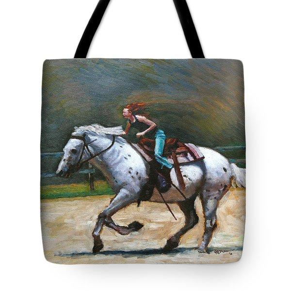Riding Dollar Tote Bag