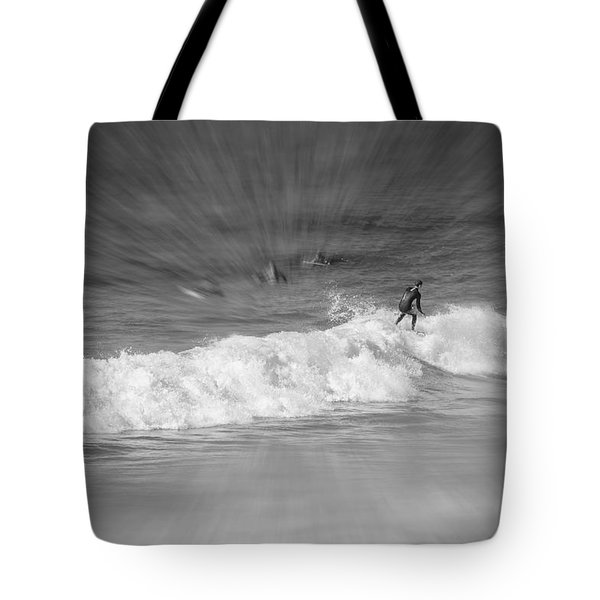 Riding It Out Tote Bag