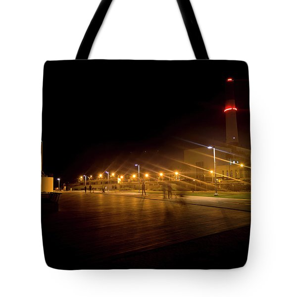 Tote Bag featuring the photograph Riding Station, Tel Aviv by Dubi Roman