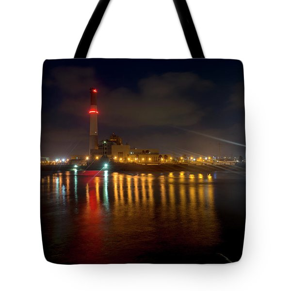 Tote Bag featuring the photograph Riding Station, Tel Aviv, Water Side by Dubi Roman