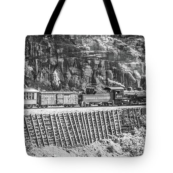 Tote Bag featuring the photograph Riding The Edge by Colleen Coccia