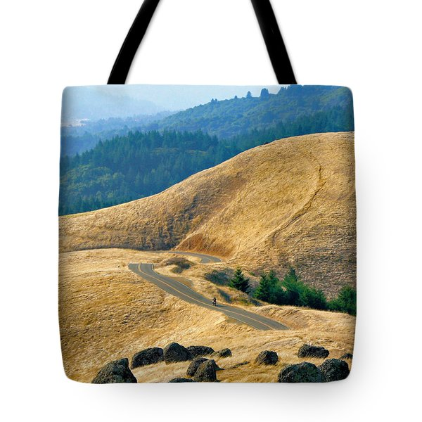 Riding The Mountain Tote Bag