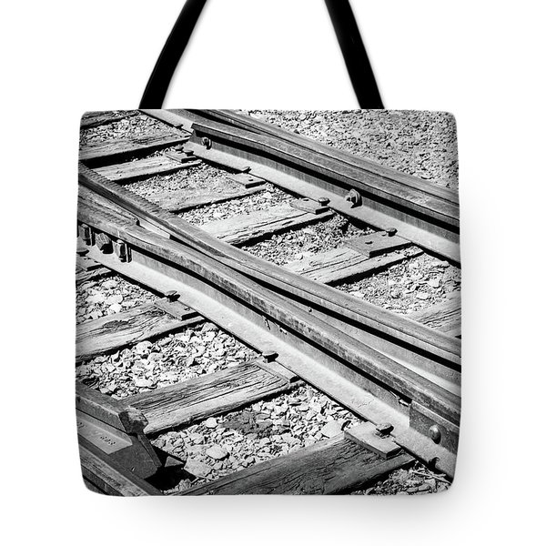 Tote Bag featuring the photograph Riding The Rail by Colleen Coccia