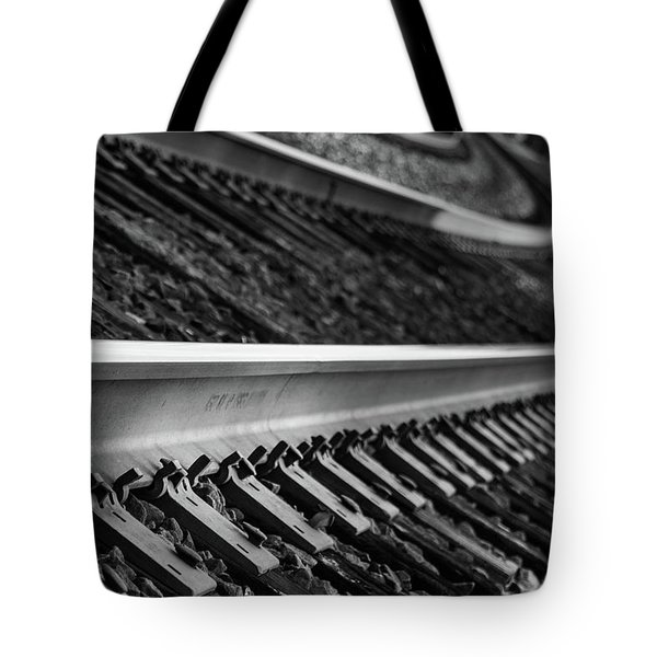 Tote Bag featuring the photograph Riding The Rail by Doug Camara