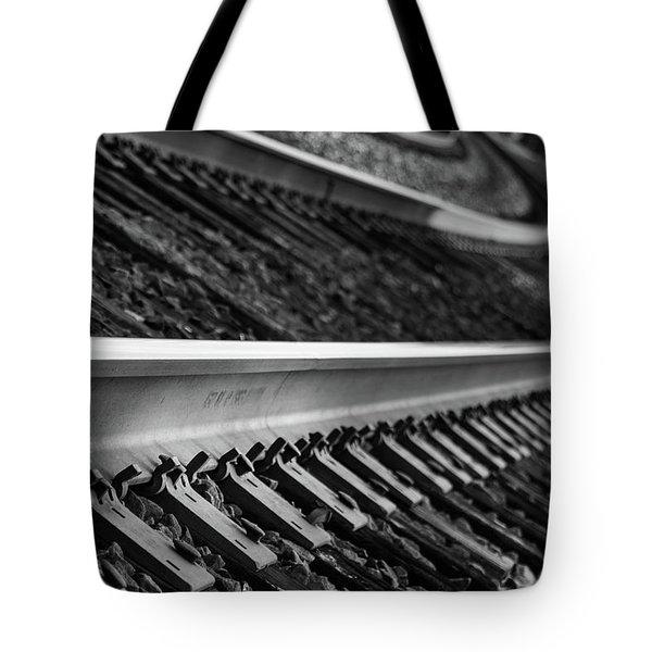 Riding The Rail Tote Bag