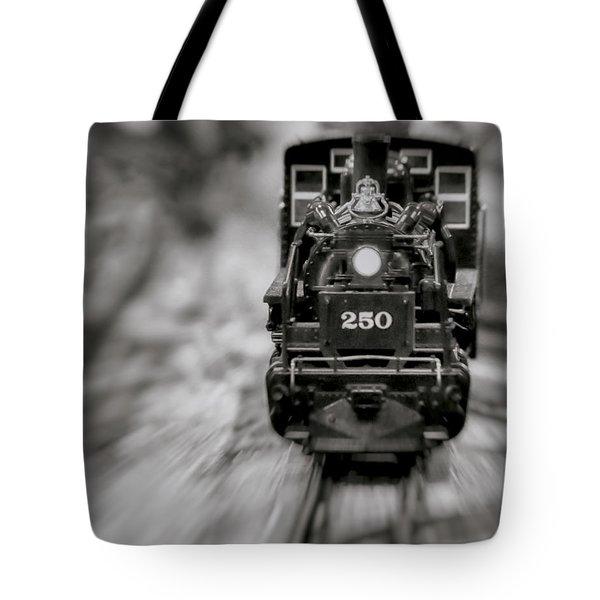 Riding The Railways Tote Bag
