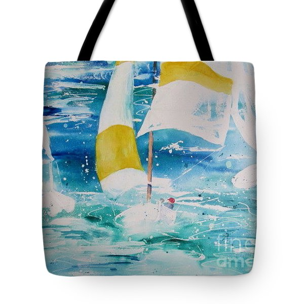 Riding The Wind Tote Bag