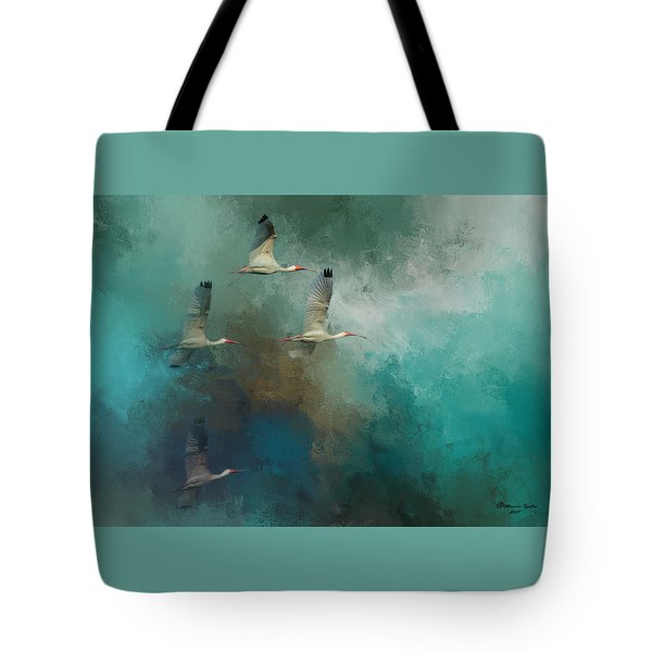 Riding The Winds Tote Bag