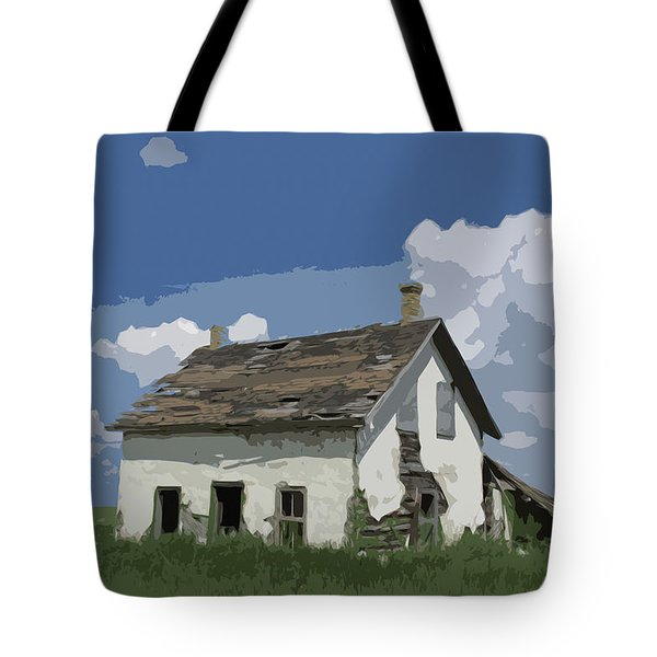 Riel Period Homestead Tote Bag by Ellery Russell