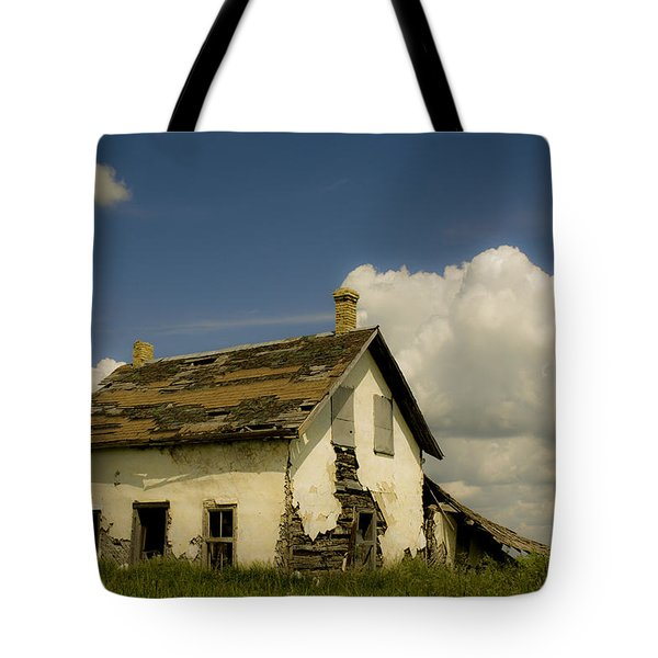 Riel Rebellion Period Farm House Tote Bag by Ellery Russell