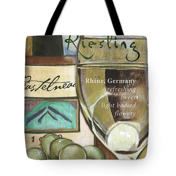 Riesling Wine Tote Bag