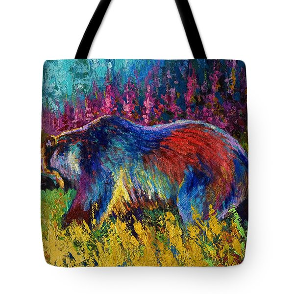 Right Of Way - Grizzly Bear Tote Bag