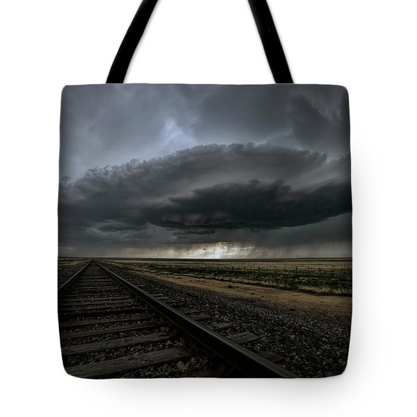 Right On Track Tote Bag