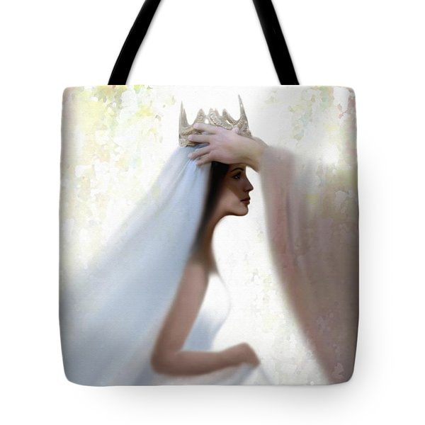 Righteous Crown Tote Bag by Kume Bryant