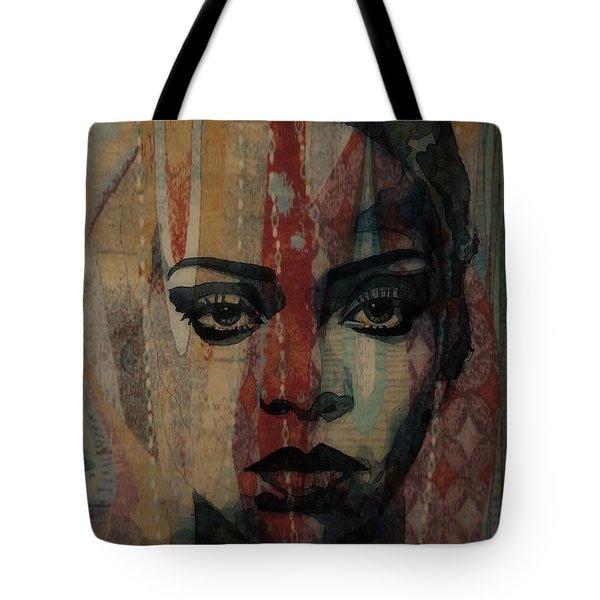 Rihanna - Diamonds Tote Bag