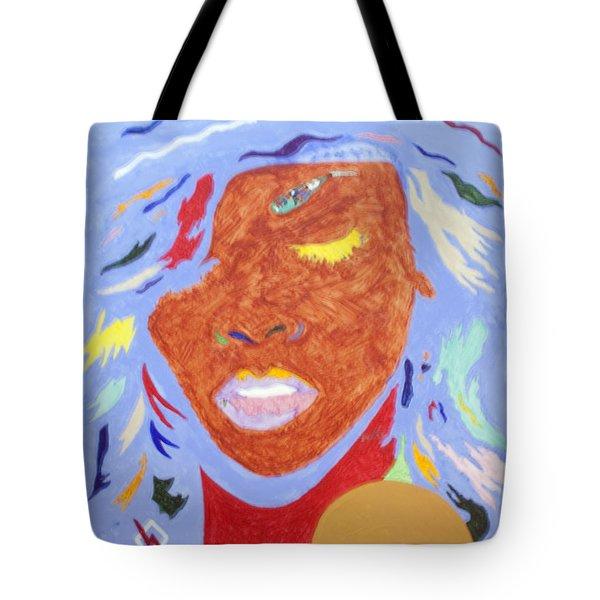 Rihanna Loud Tote Bag by Stormm Bradshaw