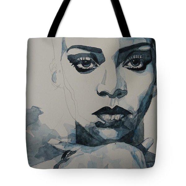 Rihanna - Pre Finish  Tote Bag