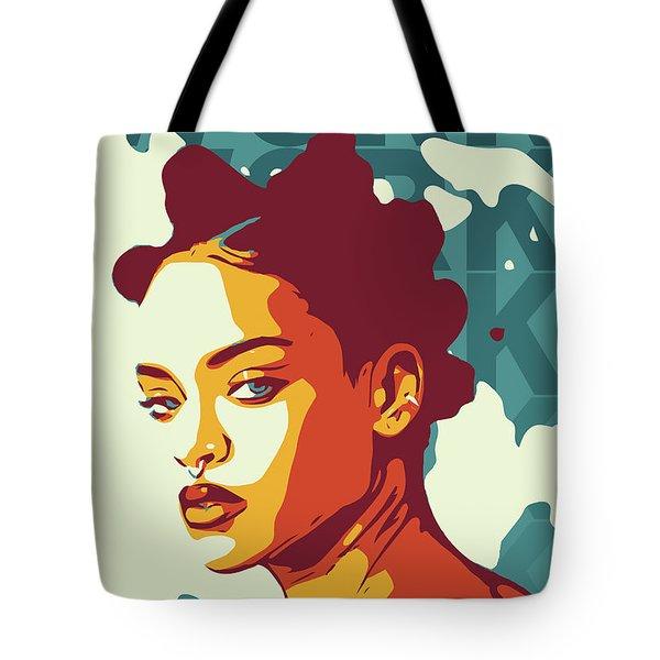 Rihanna Tote Bag by Greatom London