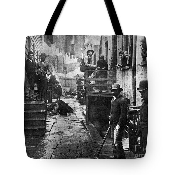 Riis: Bandits Roost, 1887 Tote Bag by Granger