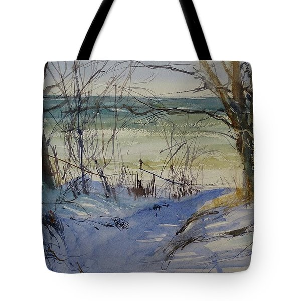 Riley Beach December Tote Bag